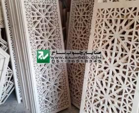تولید انواع پارتیشن چوبی دستساز ساخته شده با هنر گره چینی مشبک