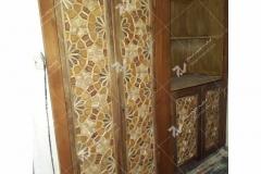 کمدها و کابینت گره چینی مشبک هتل قصر طلایی مشهد