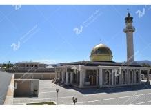 ساخت درب های چوبی گره چینی مسجد حضرت فاطمه(س)- نخجوان - جمهوری آذربایجان
