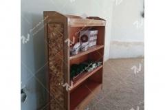 (6) جامهری و کتابخانه چوبی گره چینی تند دوازده مسجد نیروگاه سیکل ترکیبی فردوسی ( طوس ) - مشهد مقدس