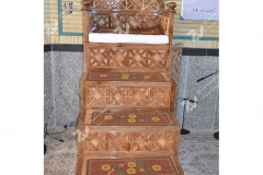 (4)منبر مسجد ابا عبدالله حسین - خیابان خرمشهر- مشهد مقدس