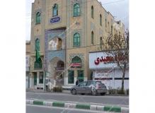 (13) ساخت دربهای چوبی گره چینی مسجد وحسینیه امام علی(ع) مطهری - مشهد مقدس