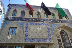 (1) ساخت دربهای چوبی مسجد و مجتمع فرهنگی حضرت علی اصغر (ع) دانش- مشهد مقدس