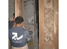(8) ساخت و نصب دربهای چوبی گره چینی مسجد امام سجاد(ع) - طبرسی شمالی - مشهد مقدس