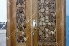 ساخت و نصب درب چوبی مسجد