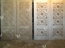 درب سنتی چوبی گره چینی توپرمجتمع فرهنگی ومسجد حضرت جوادالائمه (ع)- شریعتی- مشهد مقدس (3)