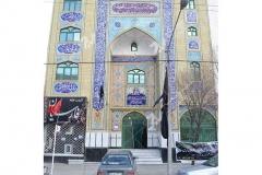 (4) مسجد وحسینیه امام رضا (ع) باهنر- مشهد مقدس