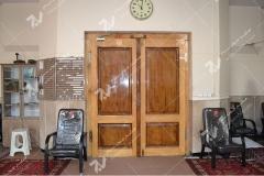 (1) درب چوبی سنتی مسجد و حسینیه امام هادی (ع) – خیابان وحدت - مشهد مقدس