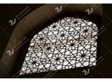 (2) پنجره چوبی گره چینی مشبک موسسه تراث الشهید حکیم – عراق - نجف اشرف