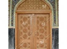 (15) درب ورودی گره چینی سنتی تند دوازده مسجد دانشگاه آزاد قوچان