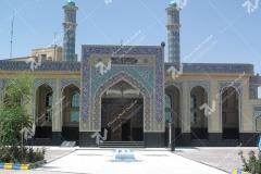 (14) درب سنتی گره چینی ورودی مسجد دانشگاه آزاد قوچان