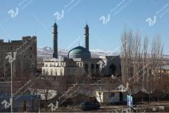 (8) ساخت درب های چوبی مسجد دانشگاه آزاد قوچان