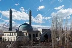 (9) گره چینی دربهای مسجد دانشگاه آزاد قوچان