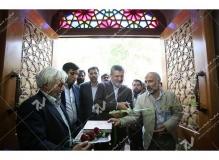 (6)مراسم افتتاحیه حسینیه جان نثاران پنج باب الحوائج -17شهریور با حضور شهردار مشهد مقدس