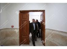 (9) درب چوبی داخلی حسینیه جان نثاران پنج باب الحوائج -17شهریور- مشهد مقدس