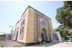 (7) درب سنتی چوبی گره چینی و ارسی حسینیه جان نثاران پنج باب الحوائج -17شهریور- مشهد مقدس