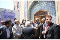 (8)مراسم افتتاحیه حسینیه جان نثاران پنج باب الحوائج -17شهریور با حضور شهردار مشهد مقدس