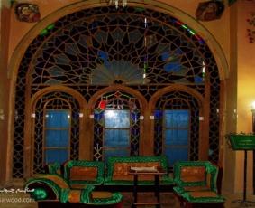 پنجره ارسی کاخ موزه باغچه جوق، قصراقبال السلطنه