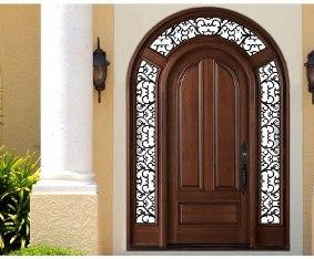 درب لوکس چوبی
