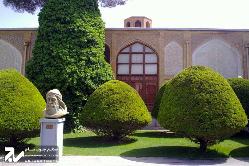 پنجره ارسی سنتی چوبی|موزه هنرهای معاصر اصفهان