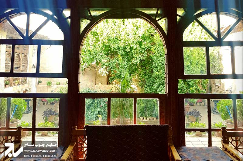 پنجره ارسی چوبی سنتی|خانه منطقی نژاد