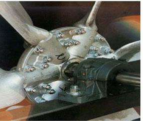مدل ملخ هواپیمایی(propeller type)