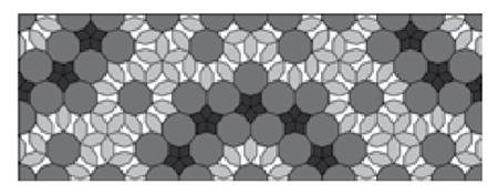 شبکه زیر ساختی گره خود متشابه (شاه گره) مسجد جامع اصفهان
