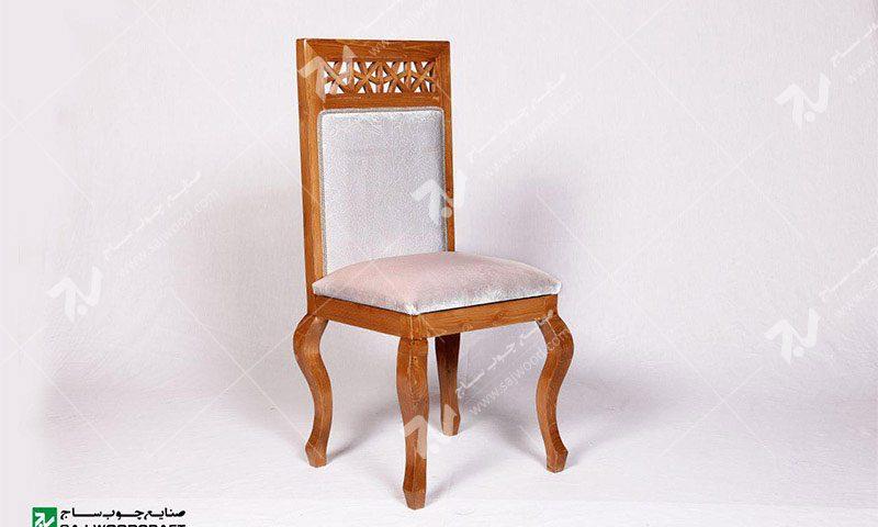 صندلی کلاسیک (غذاخوری ، مبلمان) چوبی سنتی مشبک – سمن کد ۳۰۵