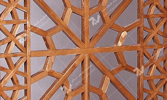 پارتیشن ، پاراوان چوبی سنتی مشبک گره چینی- افراز کد ۵۰۲