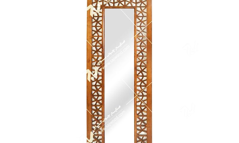 آیینه دیواری دکوراتیو مشبک گره چینی -آذین کد ۶۳۰