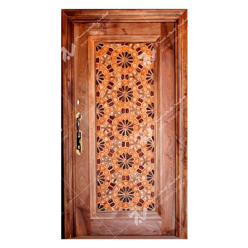 درب-چوبی-آپارتمانی-تند-دوازده-