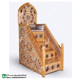 منبر-مسجد-قیمت-منبر-چوبی-مسجد-