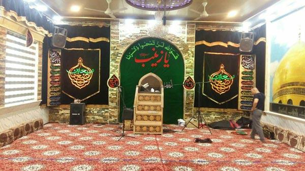 منبر چوبی مسجد گره چینی ۴ پله – شمس کد ۱۰۴