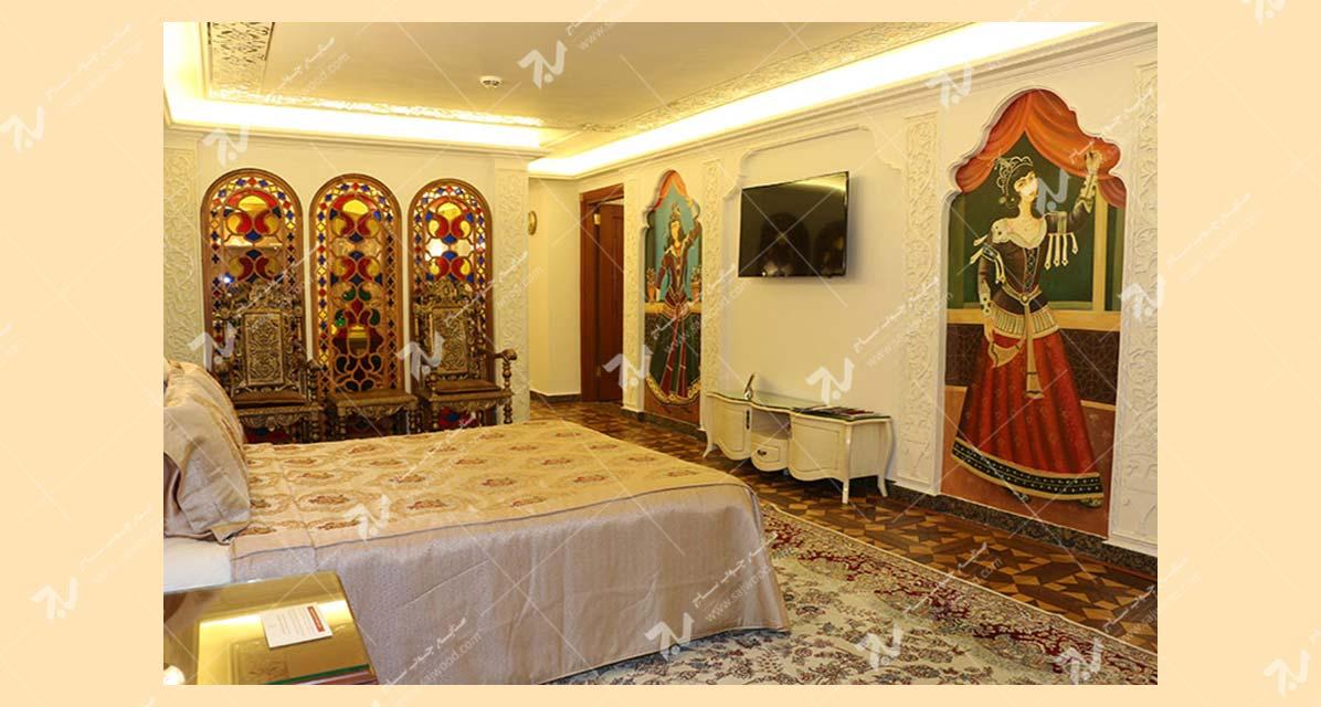 سوئیت قاجاری - هتل قصر طلایی - مشهد - ایران