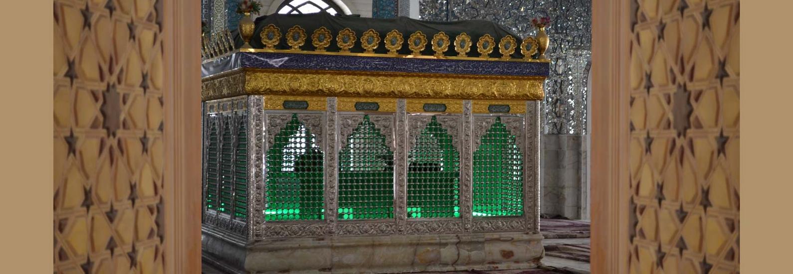 درب چوبی سنتی ورودی ساختمان،مسجد گره چینی مشبک