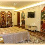 ساخت پنجره سنتی درب گره چینی،ارسی و قواره بری سوییت قاجاری هتل قصر