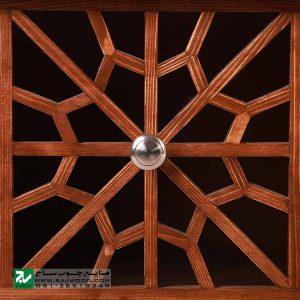 میز ال سی دی و تلویزیون LCD / LED سنتی صنایع چوب ساج مدل 321