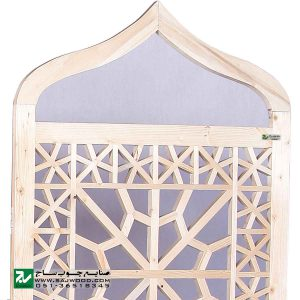 پاراوان پارتیشن متحرک سنتی چوبی صنایع چوب ساج مدل 501