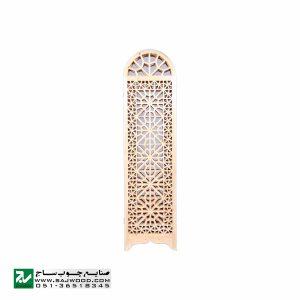 پارتیشن پاراوان متحرک سنتی چوبی اداری ، منزل صنایع چوب ساج مدل 503