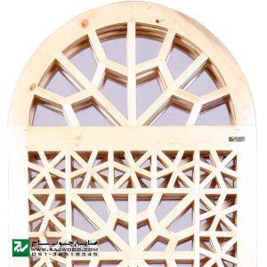 پارتیشن پاراوان متحرک چوبی سنتی منزل ، اداری صنایع چوب ساج مدل 503
