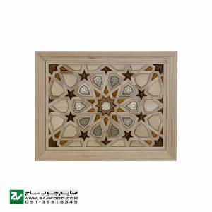درب چوبی ورودی اماکن متبرکه ،مسجد،امامزاده سنتی صنایع چوب ساج مدل T10KH