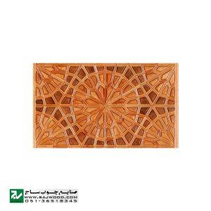 درب سنتی ورودی حسینیه ،مسجد، اماکن متبرکه چوبی صنایع چوب ساج مدل T12