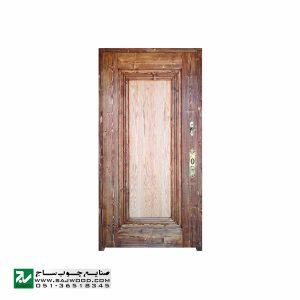 درب ورودی هتل چوبی سنتی، آپارتمان و ساختمان صنایع چوب ساج مدل T12B
