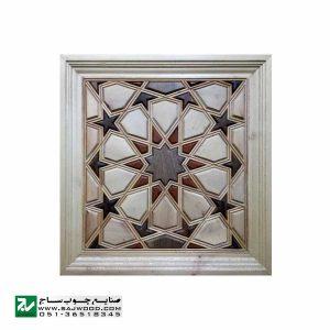 درب سنتی ورودی امامزاده ، مسجد ، نمازخانه چوبی صنایع چوب ساج مدل TT10