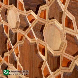 میز اداری و مدیریتی چوبی صنایع چوب ساج مدل 327