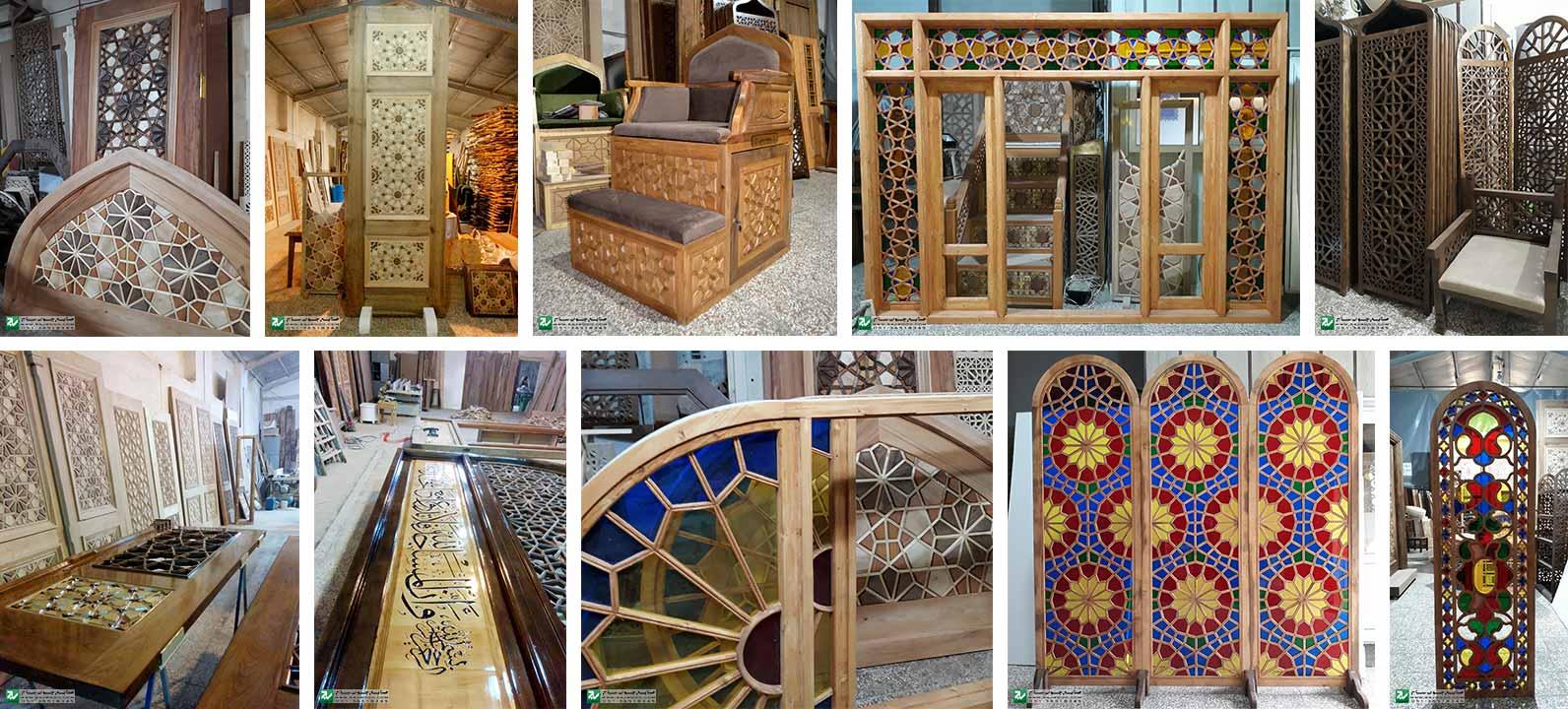 'گالری محصولات صنایع چوب ساج