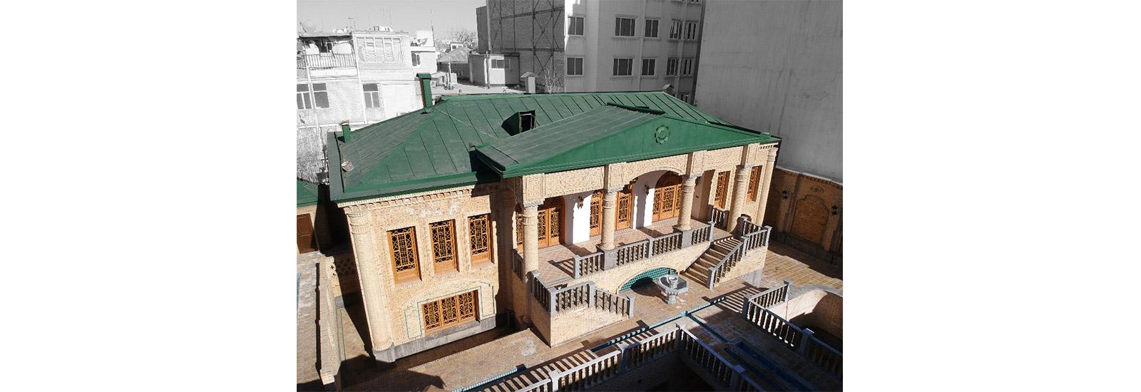 پروژه پنجره ارسی و قواره بری با شیشه رنگی مشهد ایران